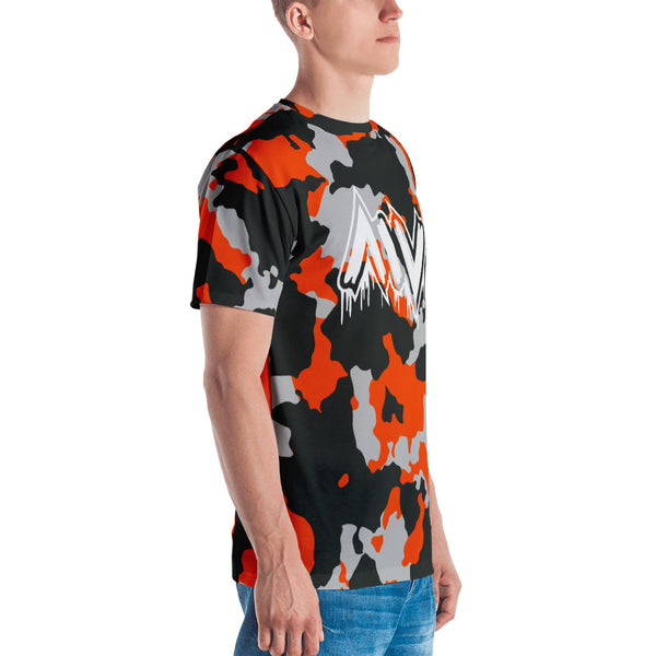 Morning Wood Skateboards New York City Orange Camo T Shirt