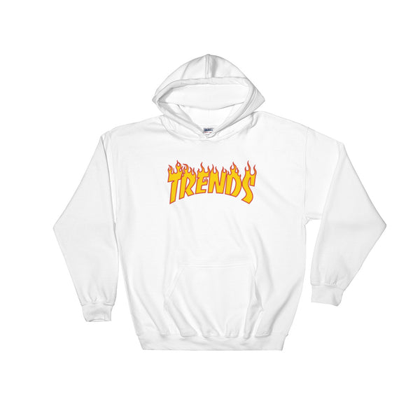 New York City Morning Wood Skateboards Thrasher Trends Pull Over Hoodie