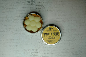 Vanilla Honey Lotion Bar