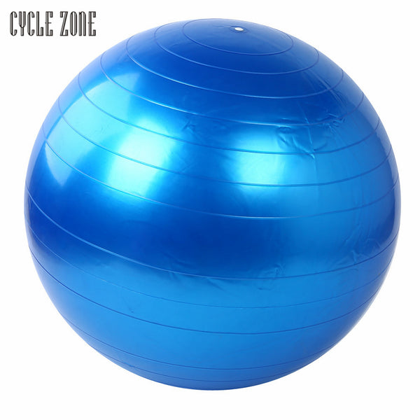 7 Colors High Quality 55cm Exercise Fitness GYM Smooth Yoga Ball Pilates Balance Sport Fitball Proof Fitness Training Dec5