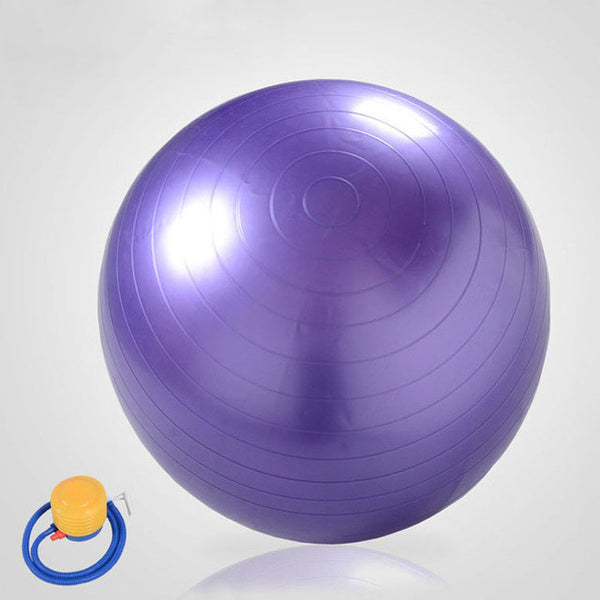 85Cm PVC Yoga Ball Slimming Ball Pregnant Midwifery Birth Ball Fitball High-quality Fitness Ball+1 Free Pump Air