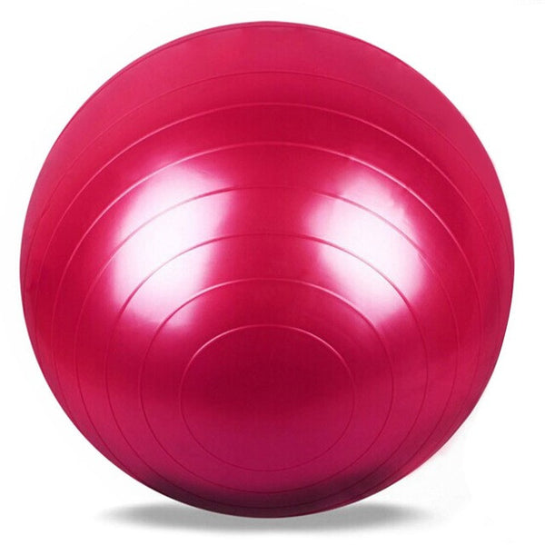 5 Colors Yoga Fitness Ball 65cm Utility Yoga Balls Pilates Balance Sport Fitball Proof Balls Anti-slip for Fitness Training
