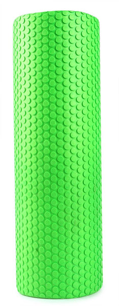 High Density Floating Point Fitness EVA Yoga Foam Roller 5.9/3.93 Inches Green Exercise Equipment For Physical Massage Pilates