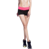 Vertvie Shorts Printed Beach Skinny Short Sport Running Short Fitness Jogging