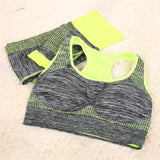 Fitness Workout & Gym Sports Running Leggings+Tops Yoga Sets Bra+Pants Sport Suit For