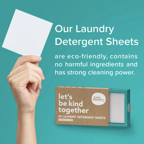 Kind Laundry Detergent Sheets
