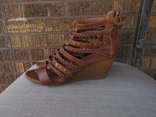 Load image into Gallery viewer, Wedge Gladiator Sandal - 6