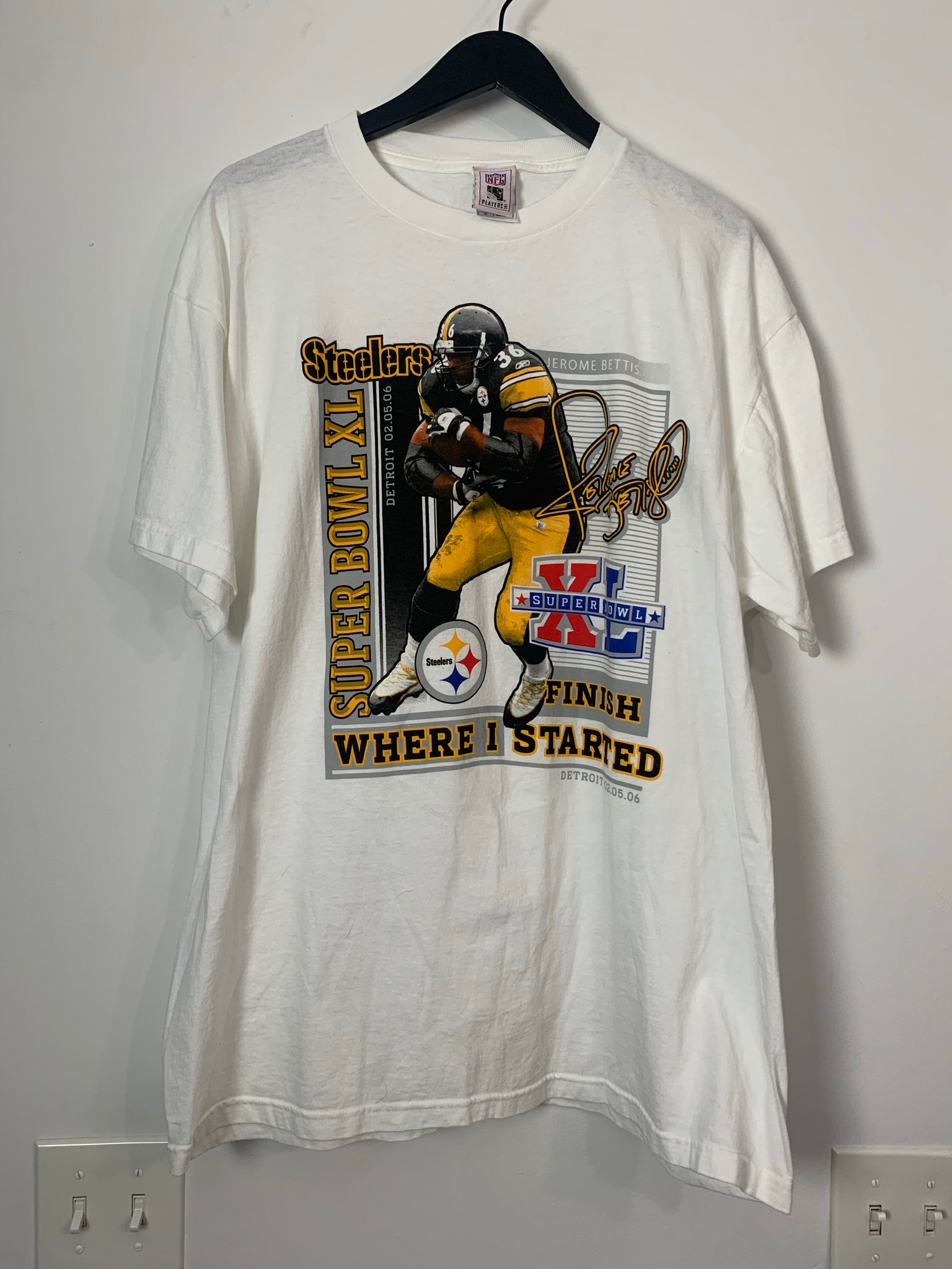 Jerome Bettis Player Tee | XL