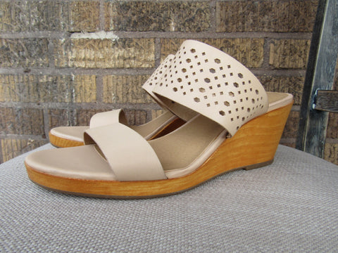 Lucky Brand Nude Wedge - 7