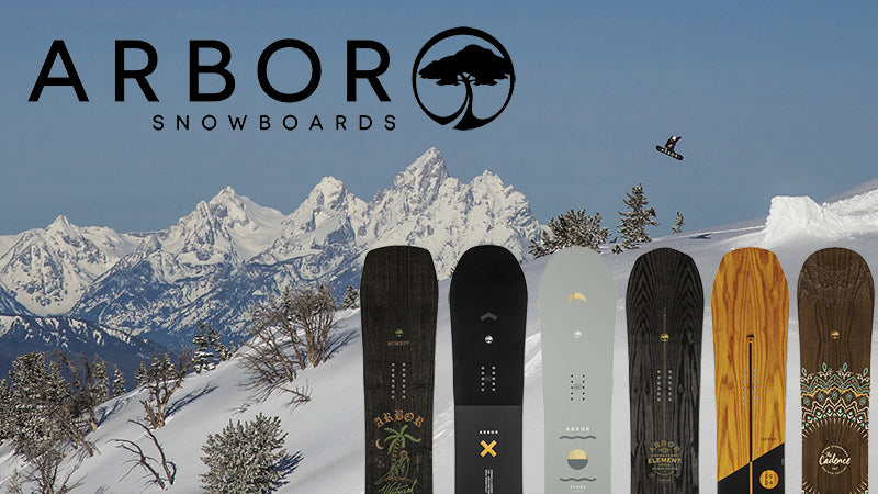 New 2019 Arbor Snowboards Now Available