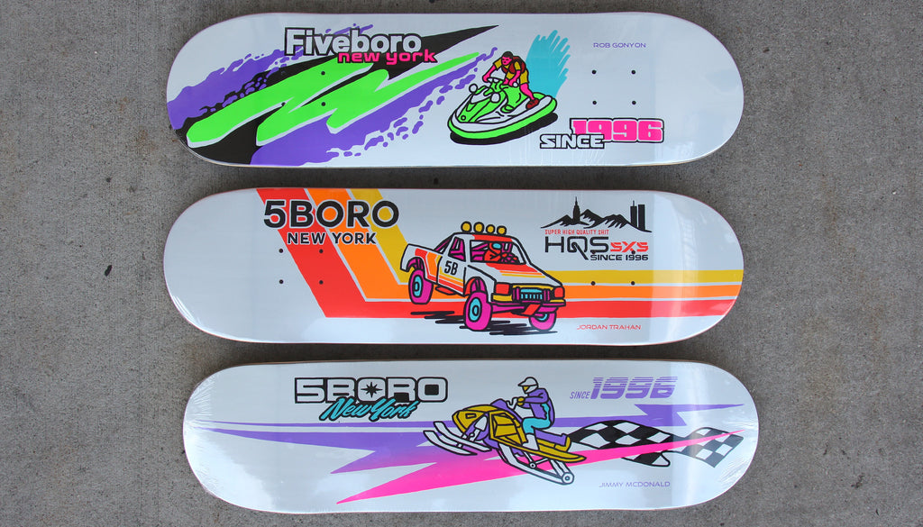 New Skateboard Decks from 5Boro NYC