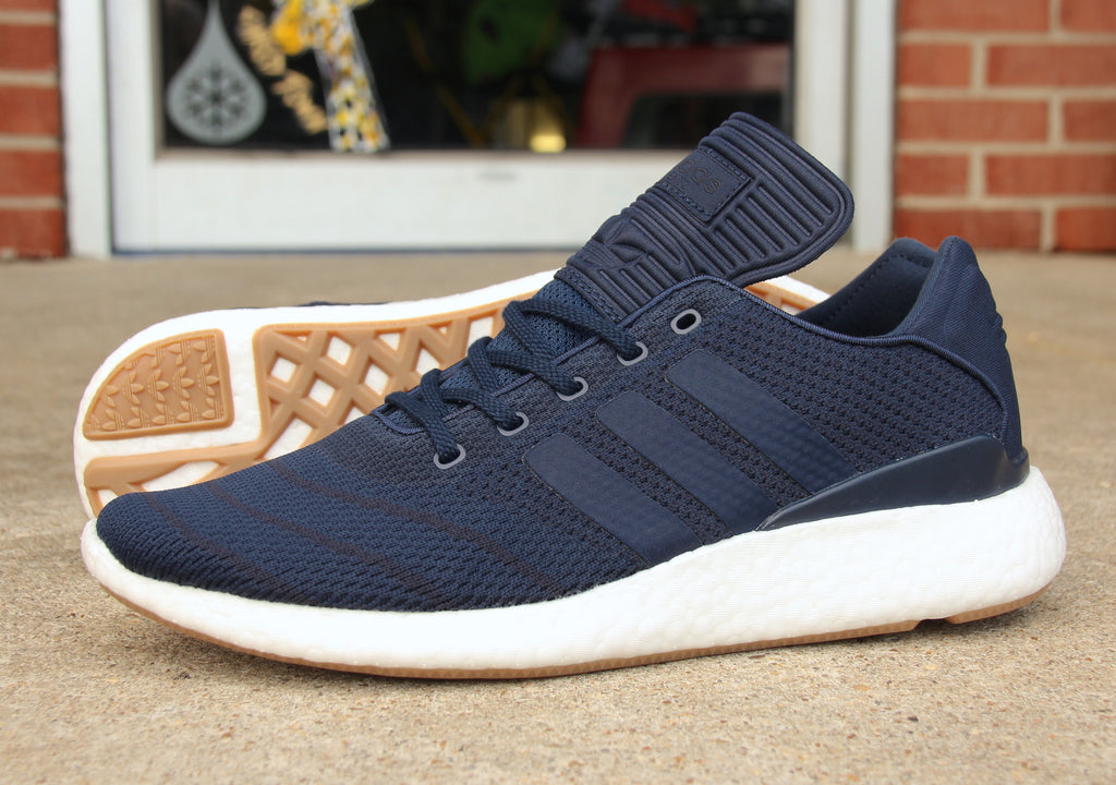 New Navy Adidas Busenitz Pure Boost Prime Knit