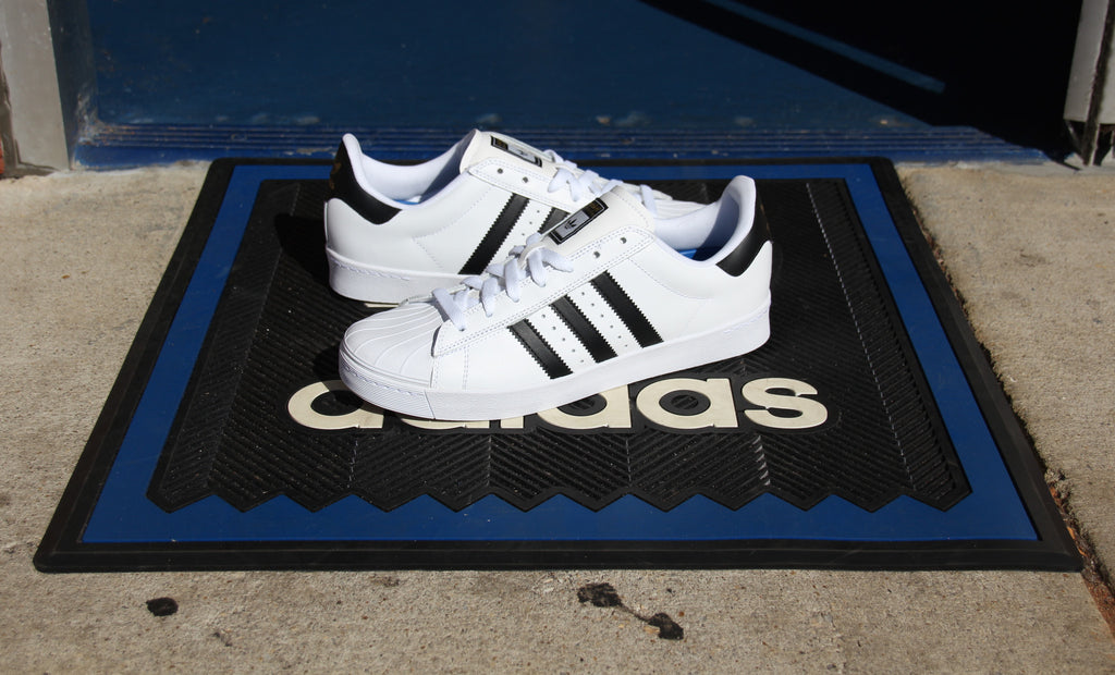 Adidas Superstar Vulc White/Black/White Now Available