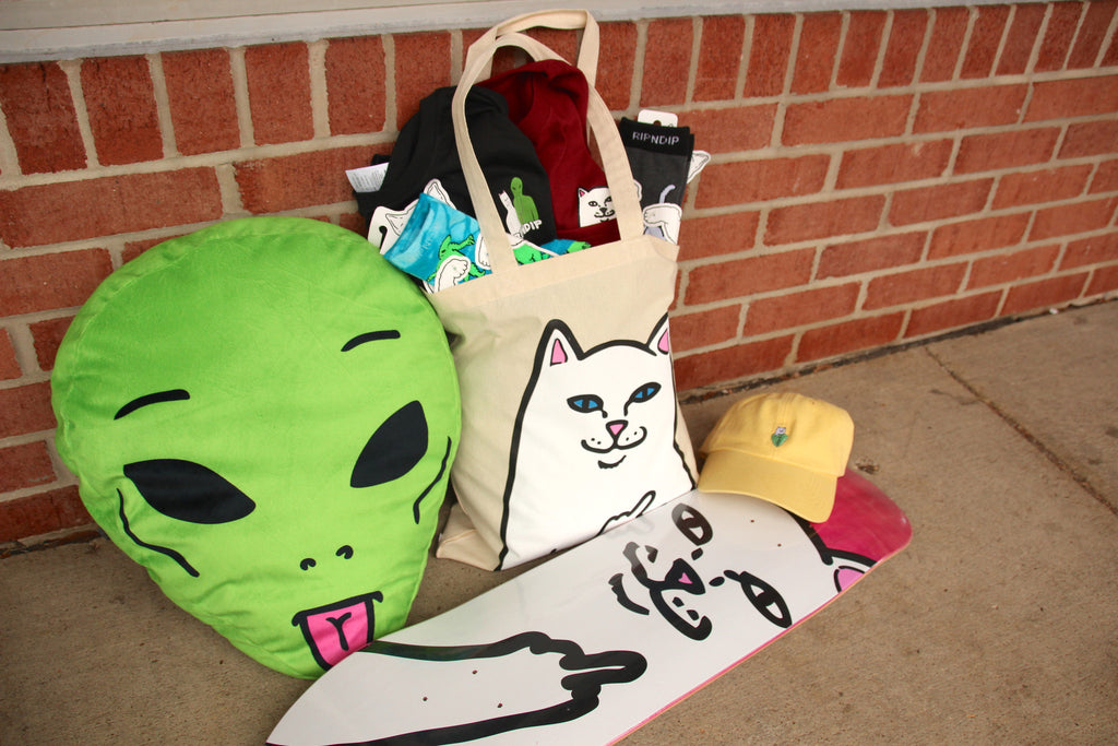 New RIPNDIP Fall Clothing and Accesories