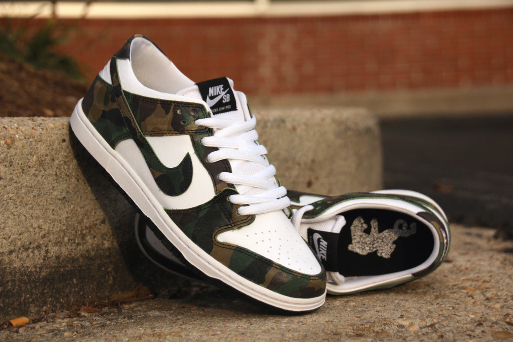 Nike SB Dunk Low Pro Camo Update for 2017