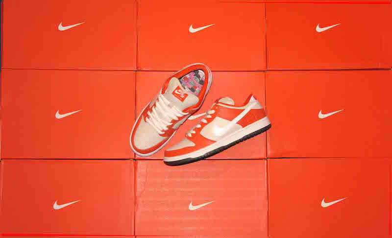 NIKE SB ORANGE BOX DUNK LOW RELEASE
