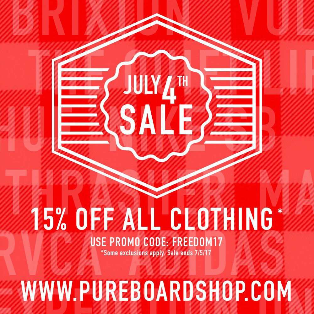 Save 15% Off All Clothing With This 4th Of July Sale