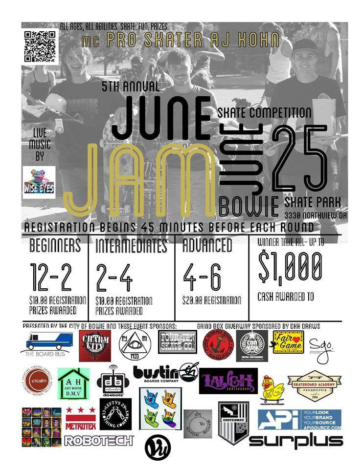 June Jam at Bowie Skatepark