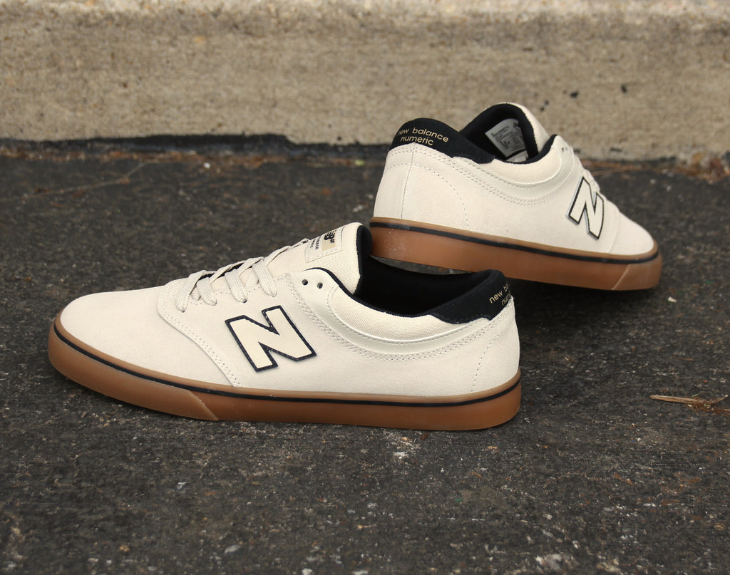 Cloud White Gum NB# 254 Skate Shoe