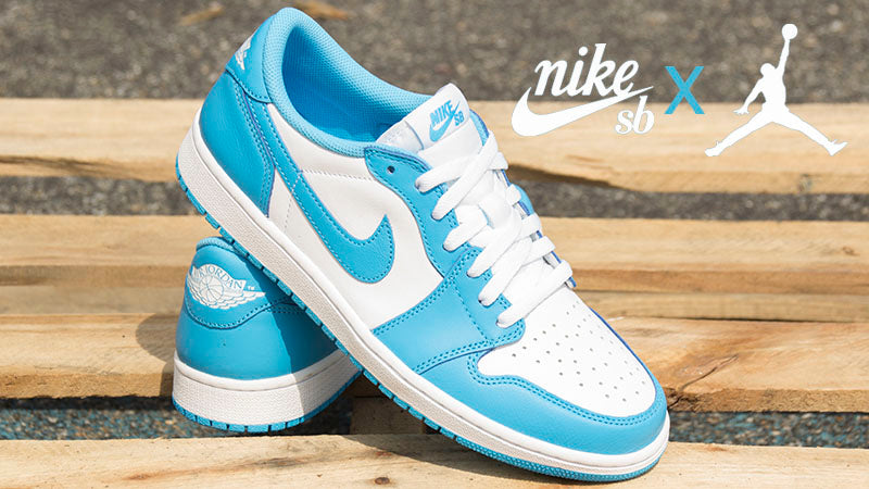 Nike Sb X Air Jordan 1 Low Unc Release Info Pure Board Shop