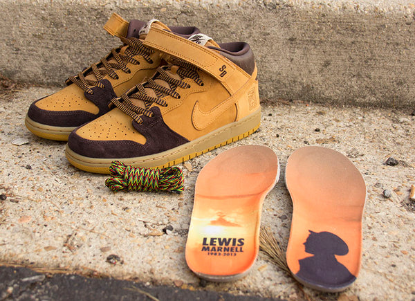 Nike SB Dunk Mid Pro Lewis Marnell Quickstrike Release