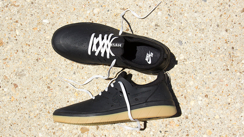 best website 3d0aa 58246 ... hot nike sb nyjah huston free black gum now available 743ff 9abcc
