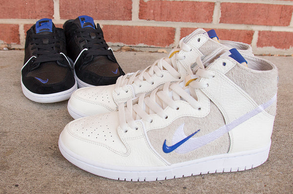 Nike SB X Soullands Quickstrike Dunk Low and High