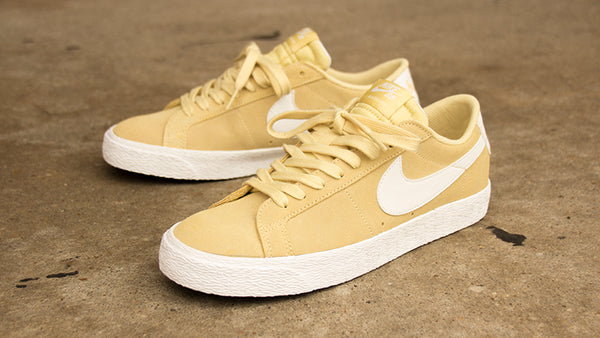 New Lemon Wash Nike SB Blazer Low
