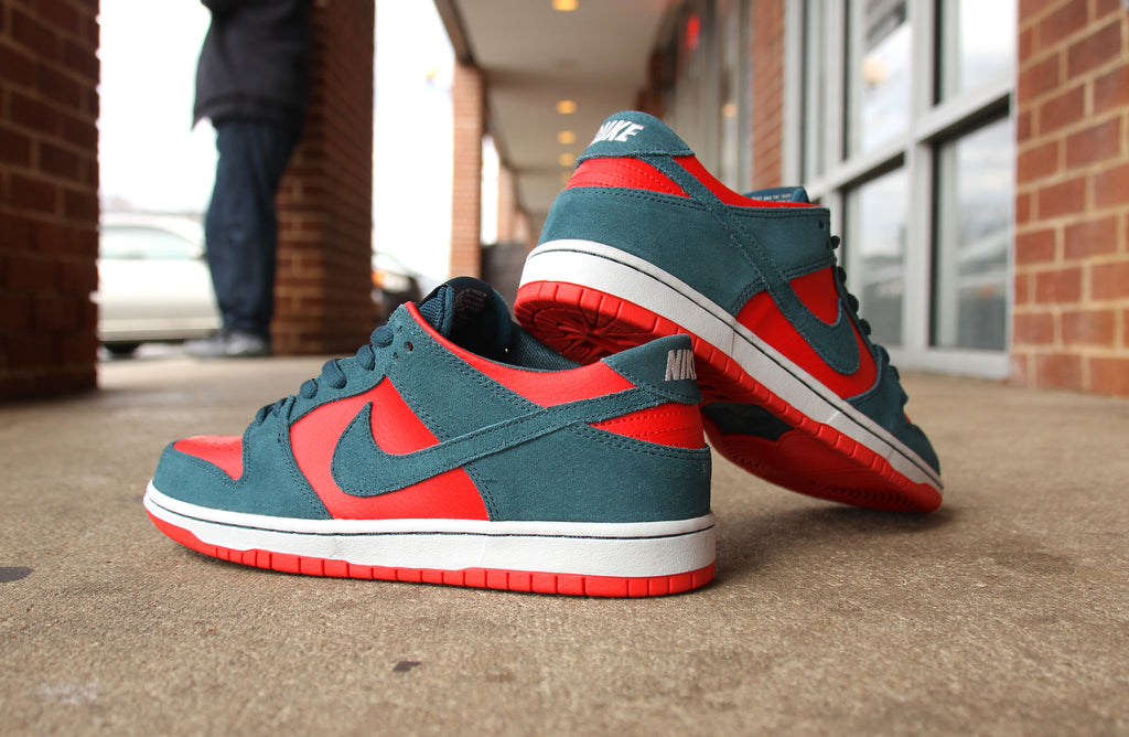 Nike SB Reverse Sharks Dunk Low Pro Now Available