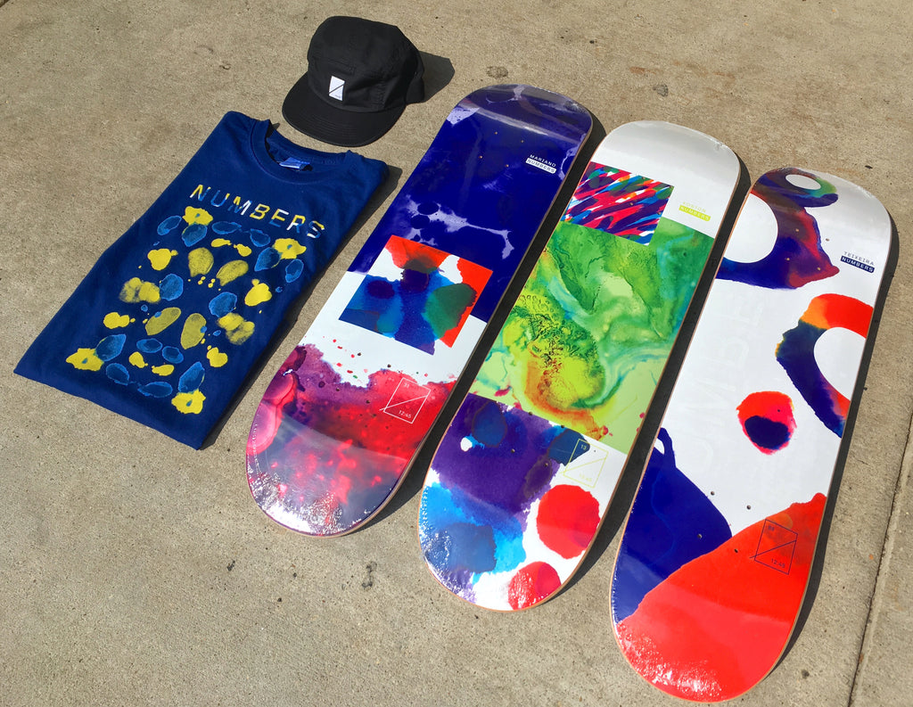 Numbers Skateboard Decks Restock