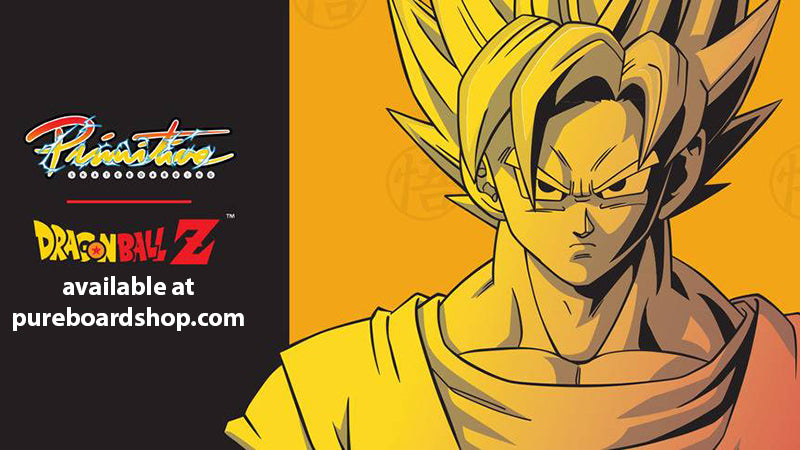 New Primitive X Dragon Ball Z 2 Skateboards & Decks - Pre-Order Now!