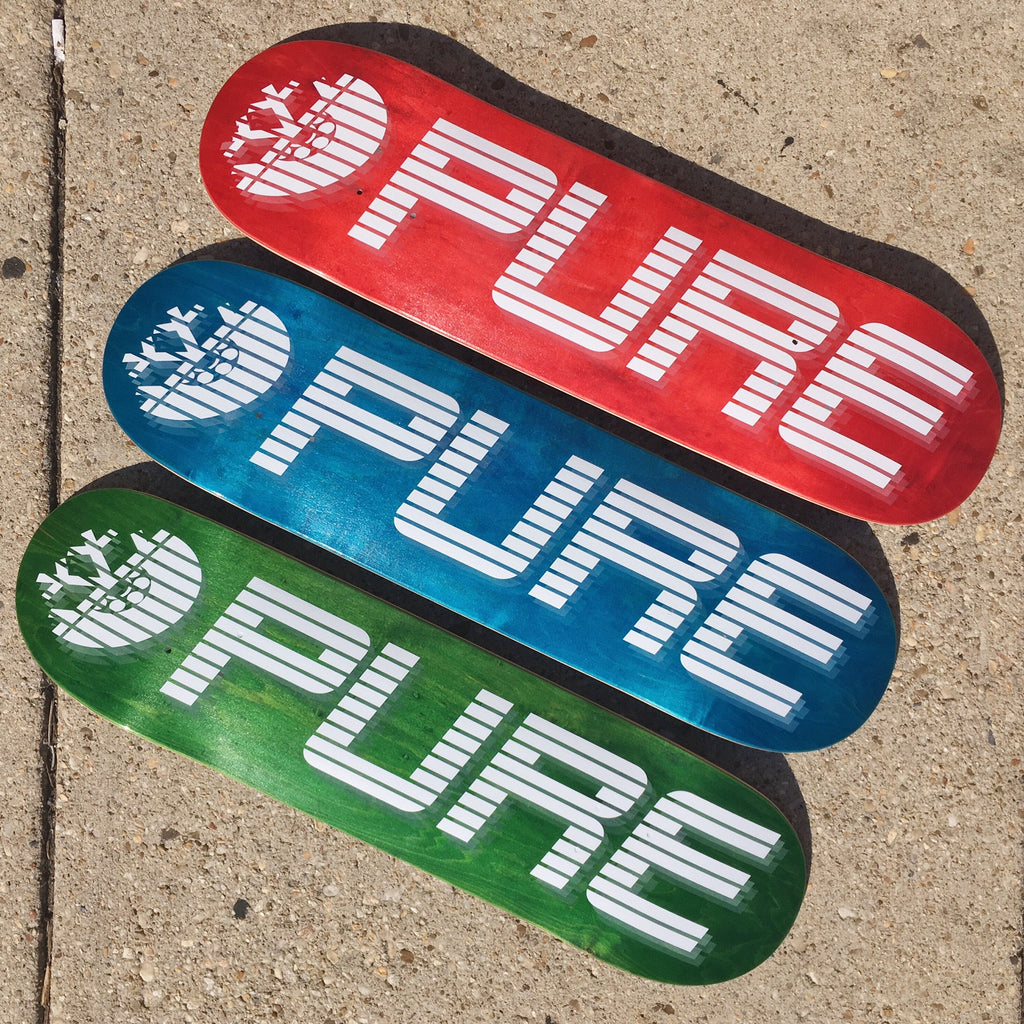 New Pure Board Shop Decks Are Here!!!