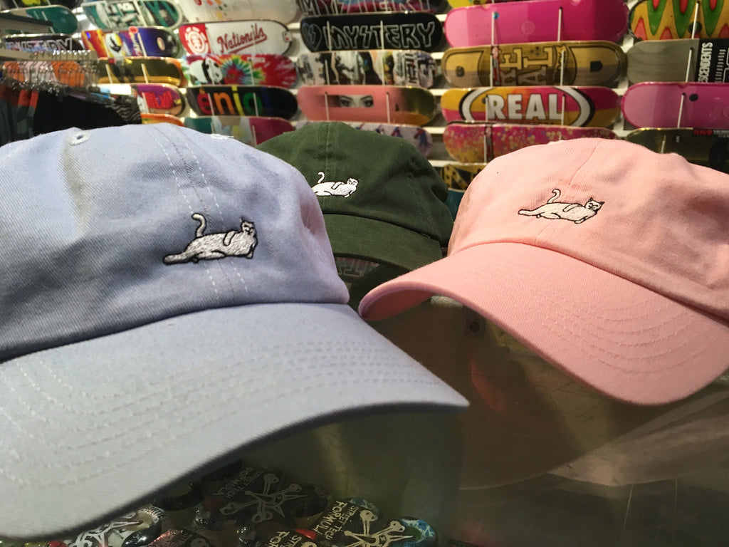 a3430bc2e59 RIPNDIP Castanza Dad Hat Restock – Pure Board Shop