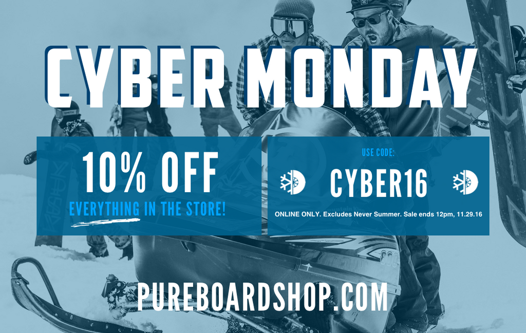 CYBER MONDAY :: 10% OFF EVERYTHING*