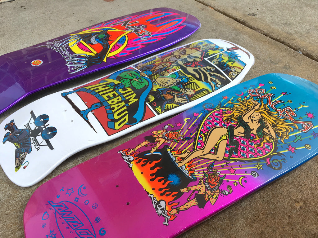 Santa Cruz Re-Issue Skateboard Decks Now Available