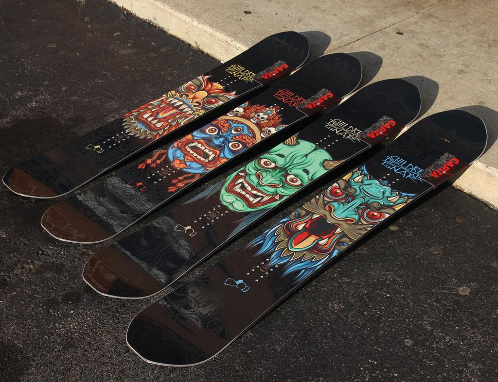 Kids Snowboards from Never Summer and Capita