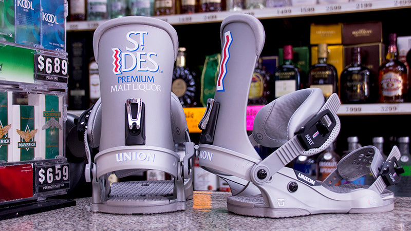 reputable site 33e63 d8b77 Union X St. Ides Snowboard Bindings 2019 Available at PURE