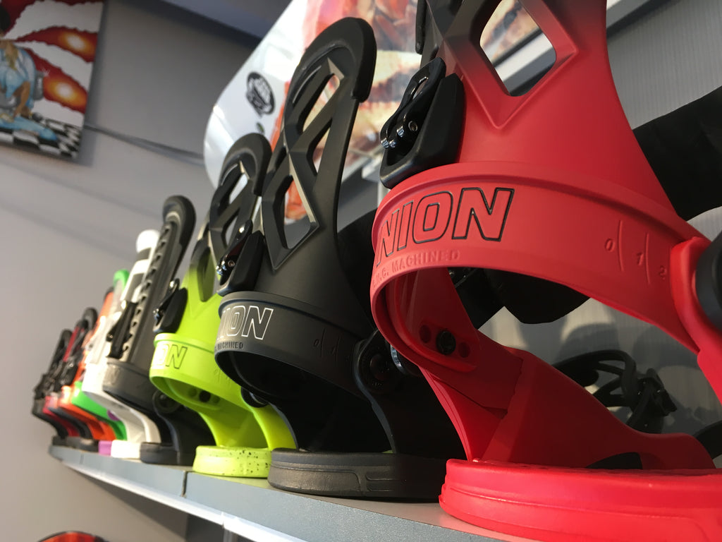 2018 Union Snowboard Bindings