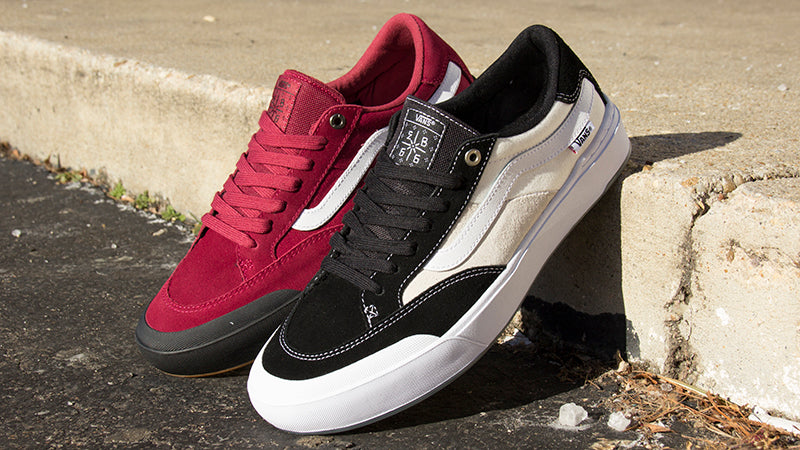 Elijah Berle First Pro Shoe From Vans