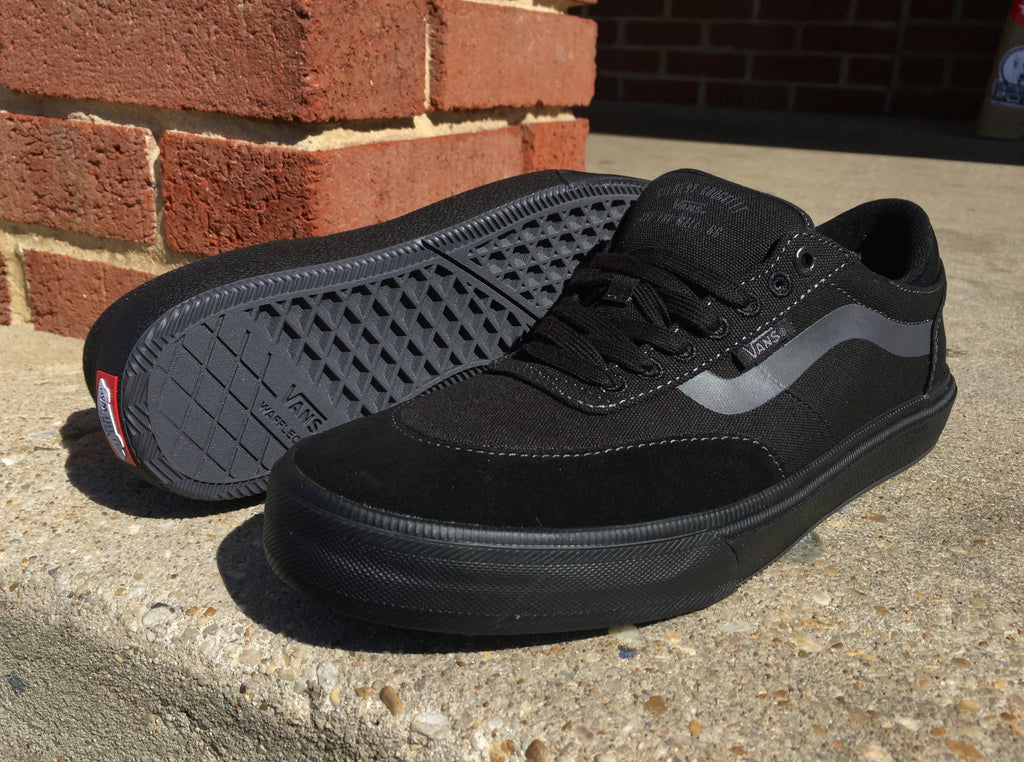 5d693f34cf06 All Black Vans Gilbert Crockett 2 Pro Skate Shoes – Pure Board Shop