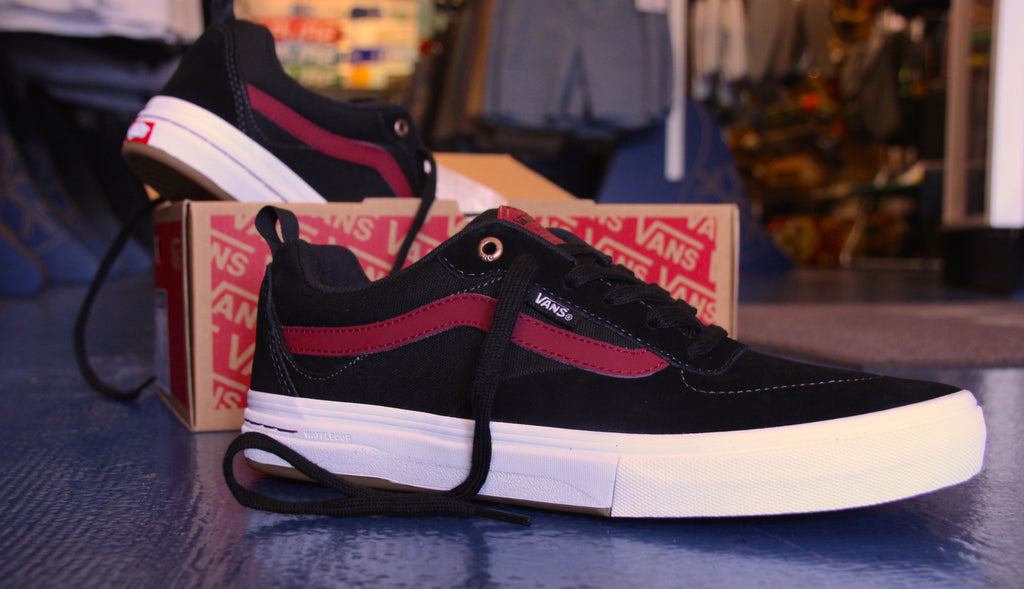 Vans Kyle Walker Pro Skate Shoes Black/Tibetan Red