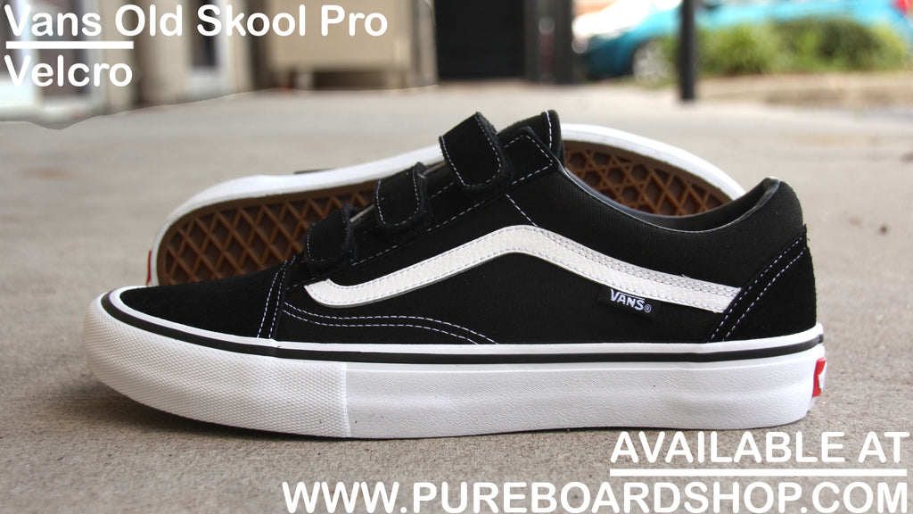 Vans Old Skool Pro Velcro Shoe Review