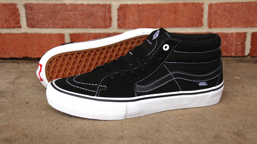 435f375524 Vans Sk8-Mid Pro Skate Shoes – Pure Board Shop