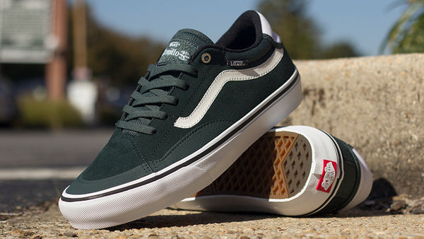 New Darkest Spruce Vans TNT Advance Prototype Shoes