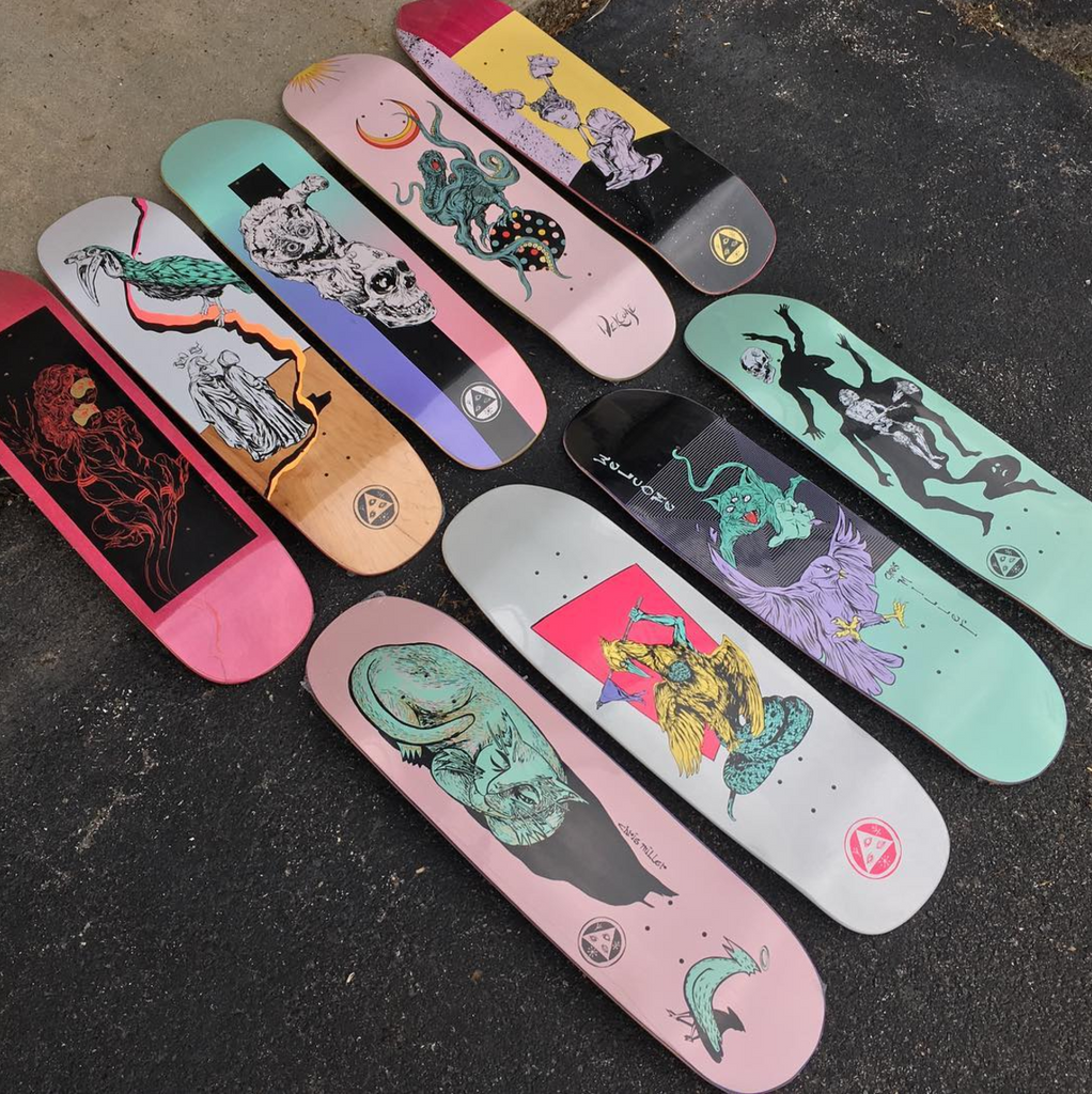 New Welcome Skateboards for Summer 2017