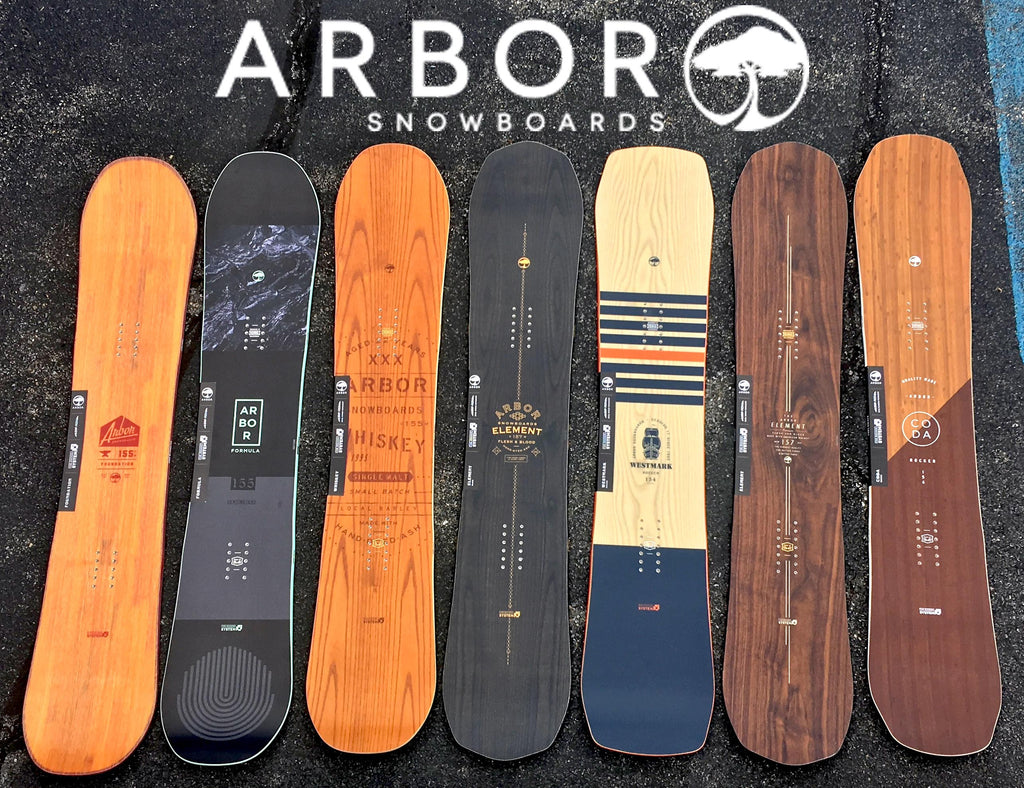 2018 Arbor Snowboards Now At Pure Board Shop