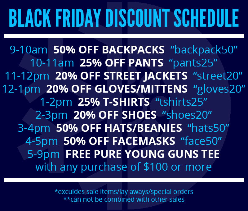 Online Black Friday Discounts Every Hour!