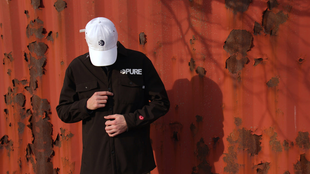 Stay Dry in The Candy Grind X Pure WorkShirt Jacket
