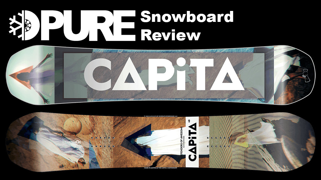 Capita Defenders of Awesome Snowboard 2018 Review
