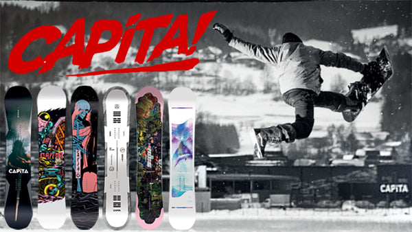 New Capita Snowboard 2019 Available For Pre-Order